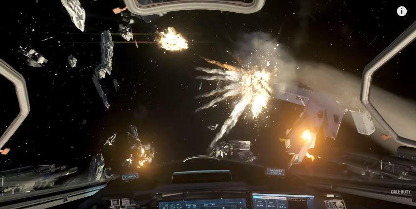Die Raumkämpfe in Infinite Warfare sind jetzt schon ein spannender Ansatz