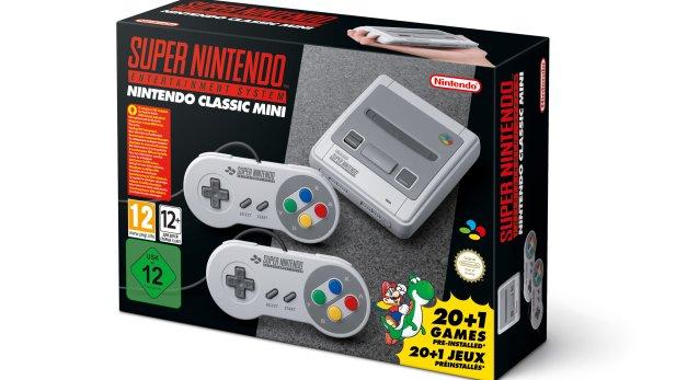 SNES Mini – Nintendo kündigt Retro Konsole an