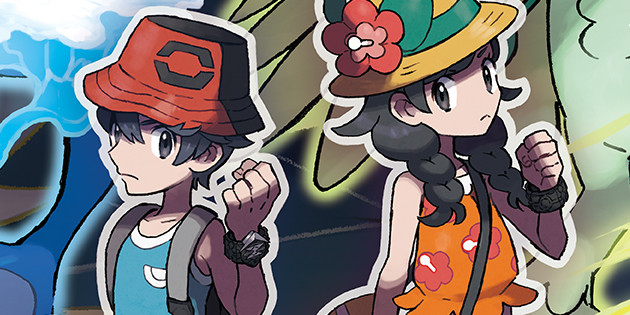 Gameplay-Material zu Pokémon Ultrasonne & Ultramond angekündigt