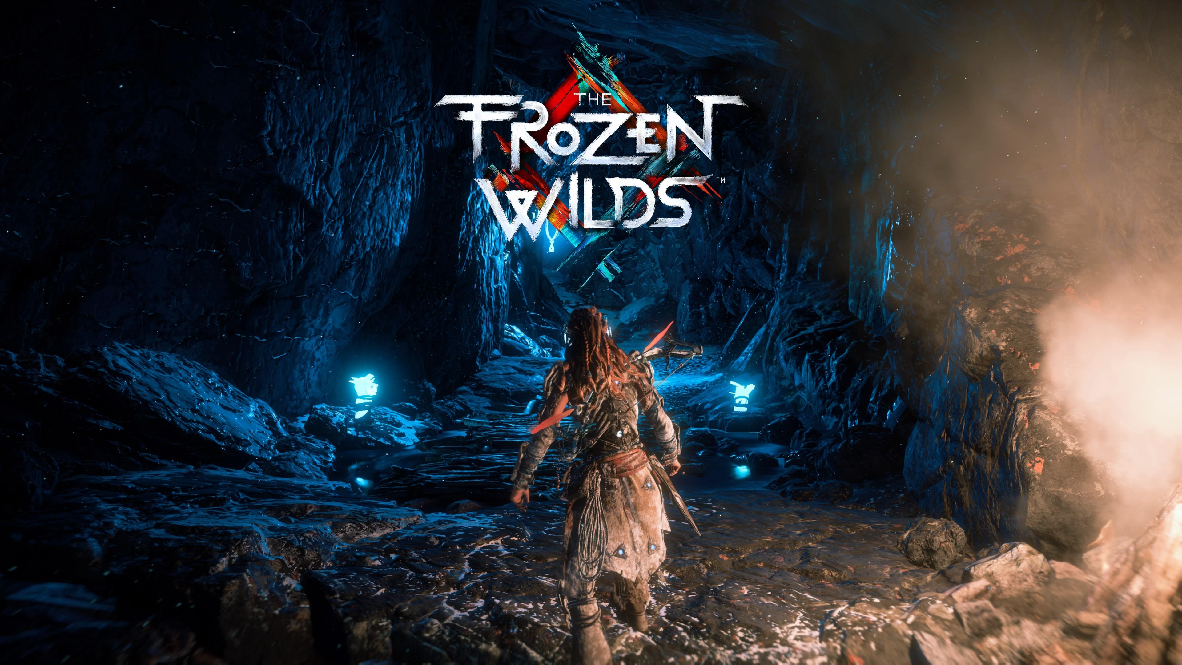 Horizon Zero Dawn Blauglanz Karte.Horizon Zero Dawn The Frozen Wilds Mit Dem Kopf Durch Die Eisigen
