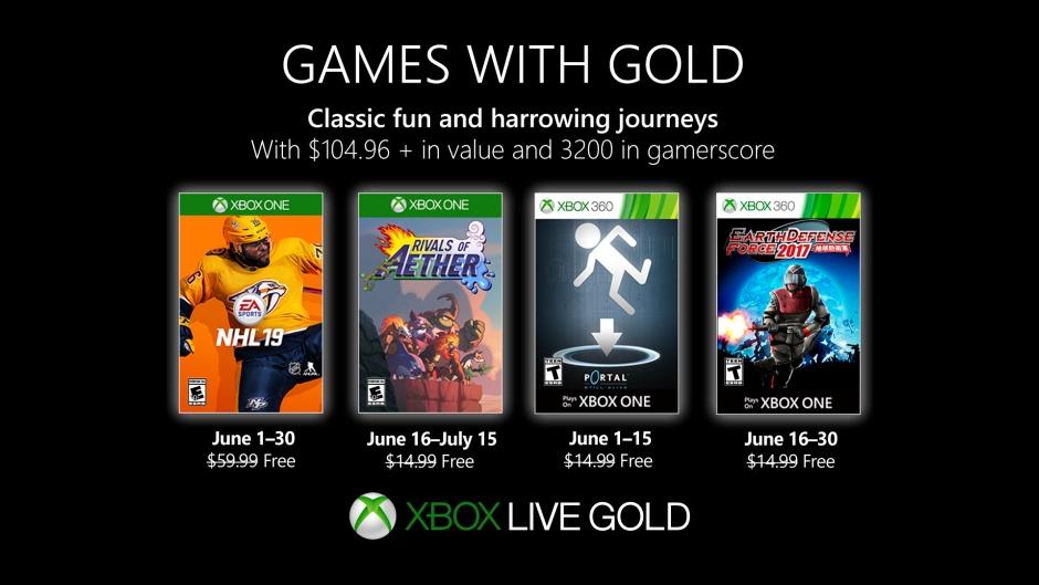 Das sind die Games with Gold im Juni 2019