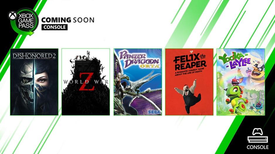 5 weitere Spiele für den Xbox Game Pass im Oktober angekündigt