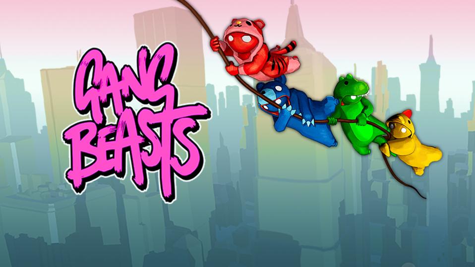 Hau deinen Partygästen mal richtig in die Fresse (und wirf sie von einem Hochaus) – Gang Beasts
