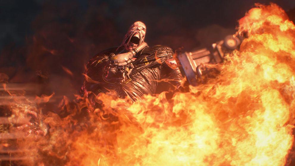 Neue Screenshots zum Remake zu 'Resident Evil 3'