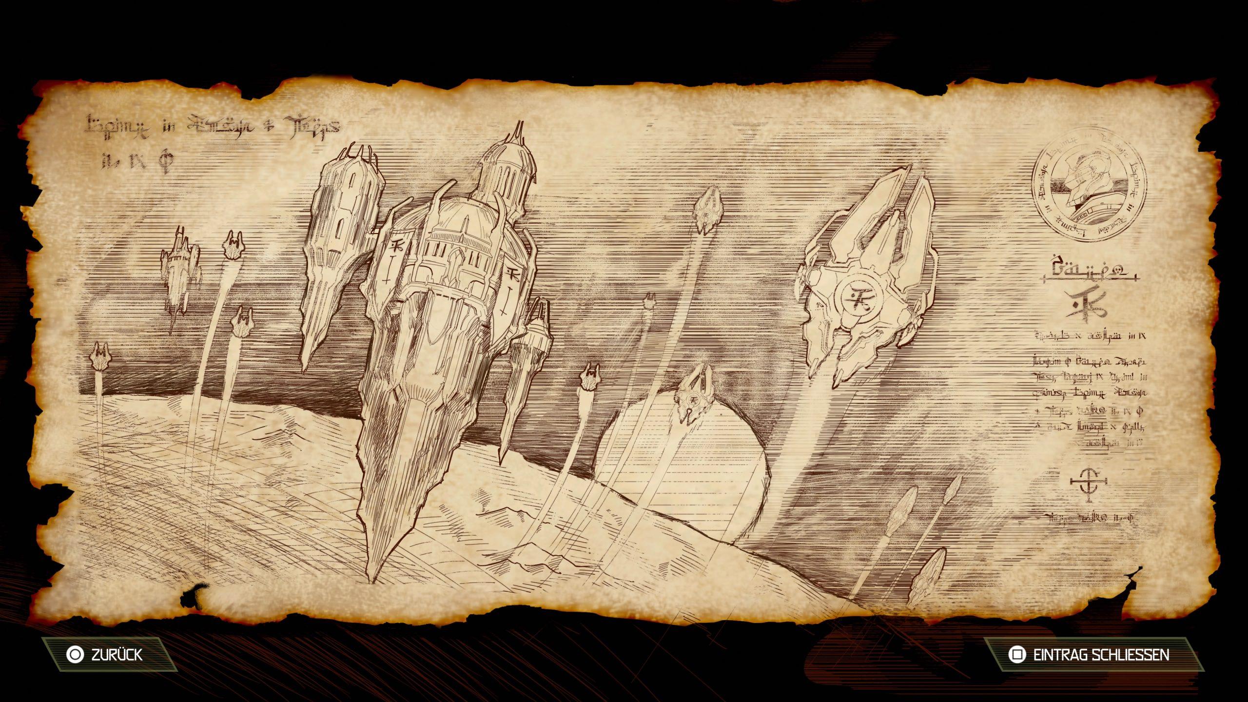 Doom Eternal bietet abseits der Ballerei nun auch tiefgründige Story Elemente die man jederzeit im Kodex nachlesen kann.