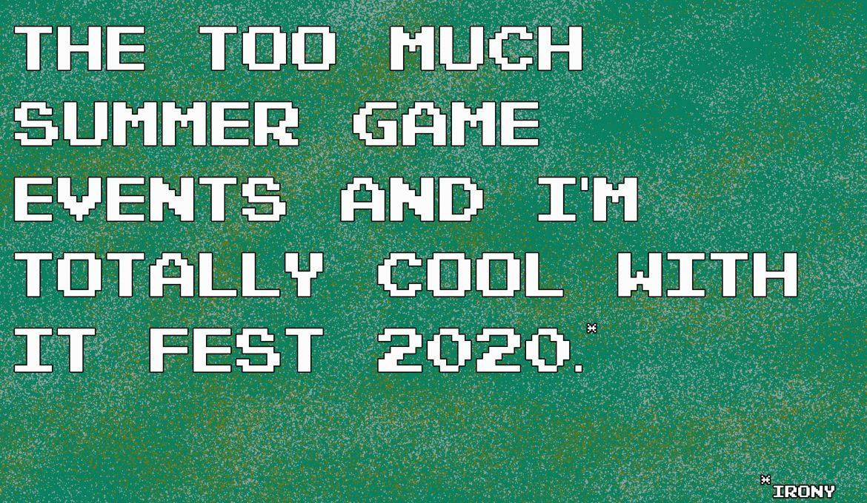 Summer Game Fest 2020: Bitte nicht im nächsten Jahr!