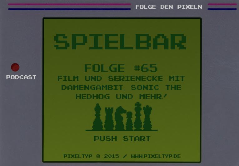 SpielBar #65 – Film und Serienecke mit Damengambit, Sonic the Hedhog, Judy, Die Firma und einer Trash-Perle